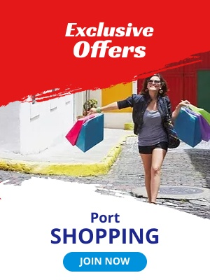 Exclusive Offers. Port Shopping.