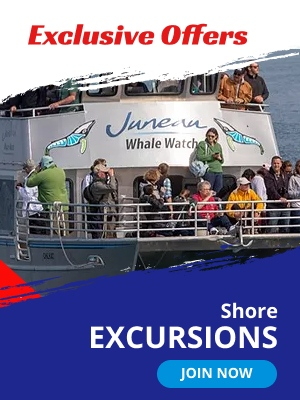Exclusive offers. Shore Excursion.